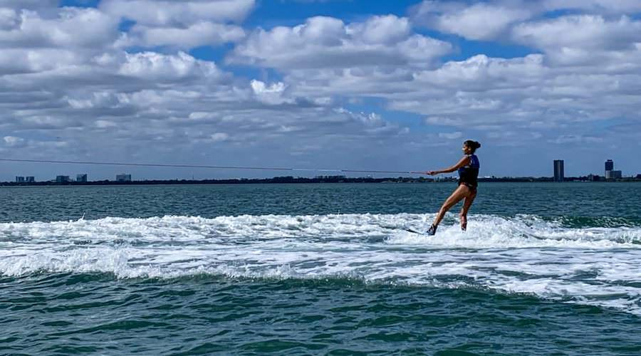 Enjoy wakeboarding in Miami