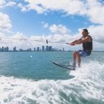 Enjoy your waterski lesson in Miami with our instructor